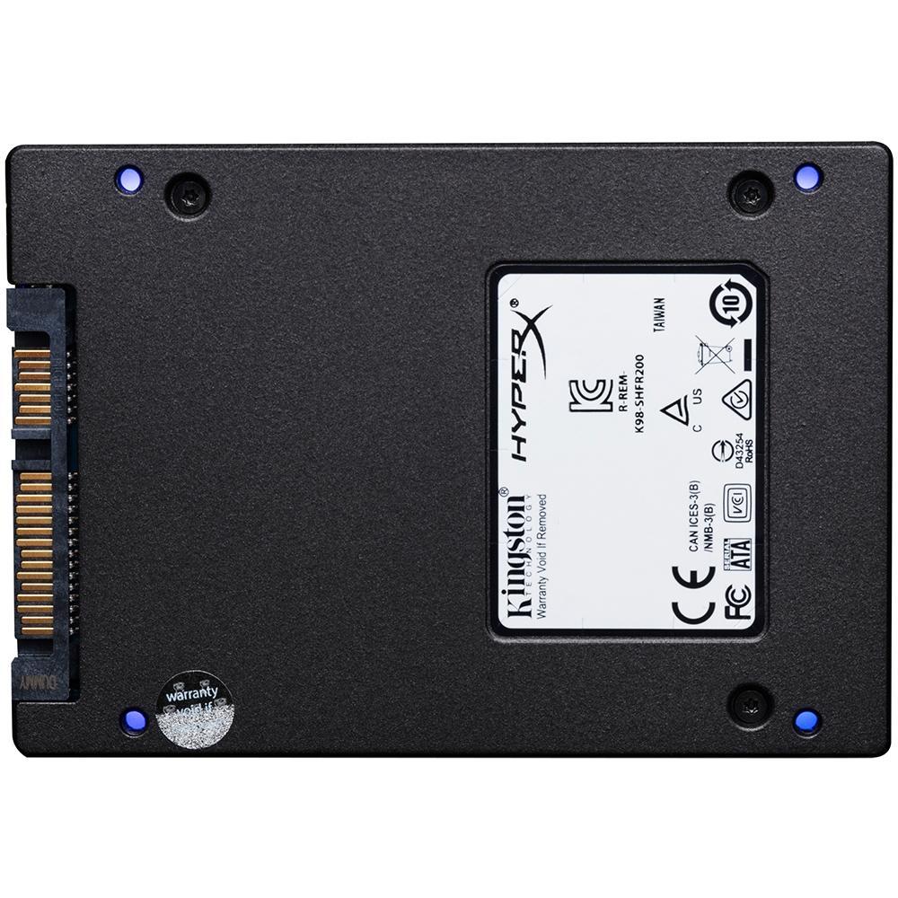 SSD 960GB HYPERX FURY RGB  SATA3 2,5 - SHFR200/960G