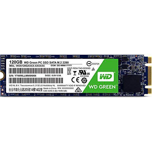 SSD M.2  120GB Western Digital WDS120G1G0B