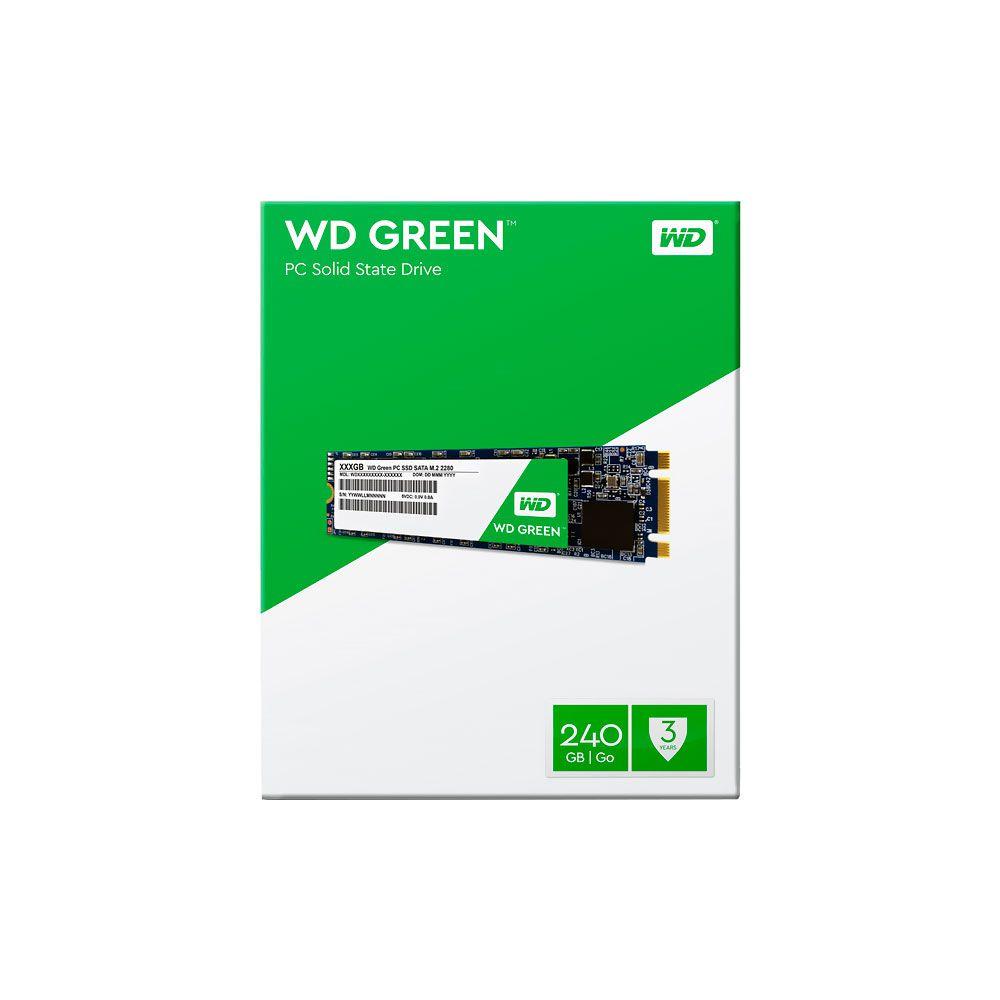 SSD M.2  240GB Western Digital WDS240G2G0B