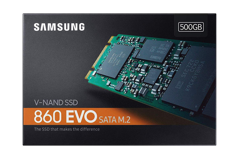 SSD M.2  500GB Samsung 860 EVO 3D V-NAND SATA MZ-N6E500BW