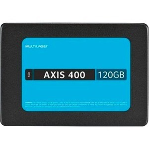 SSD MULTILASER AXIS400 120GB SATA LLL L430MB/S G400MB/S 3ANOS - SS101