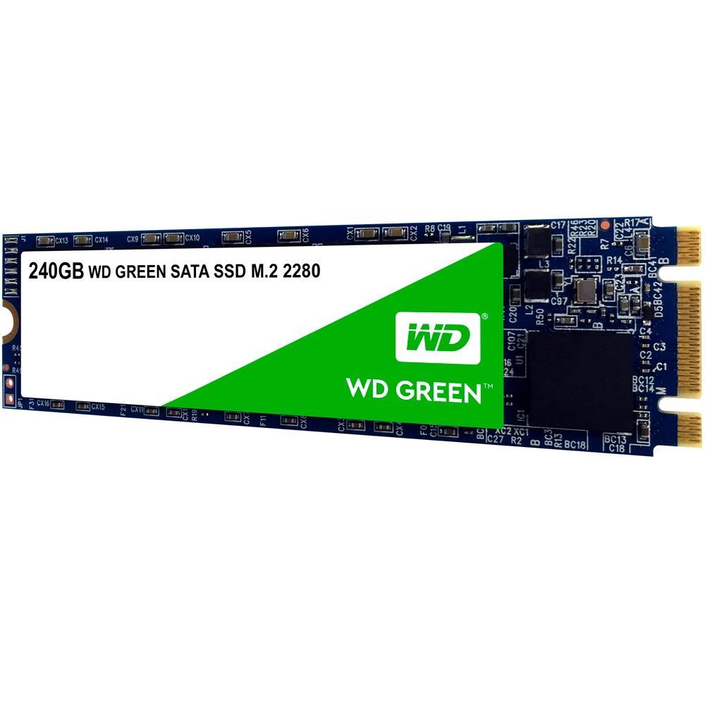 SSD WESTERN DIGITAL GREEN M2 240GB SATA