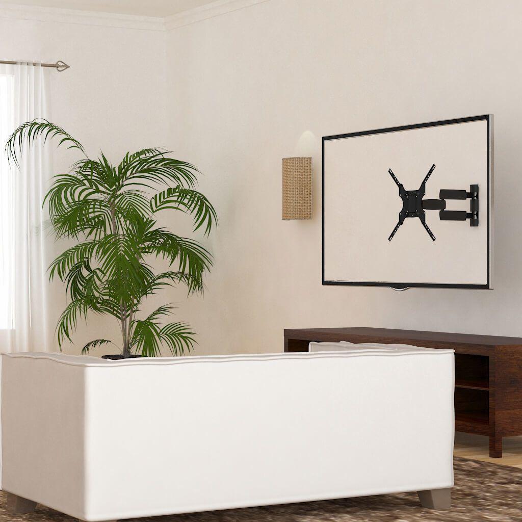 SUPORTE PRETO TRI-ARTICULADO TV LCD 23 A 55 - SBRP145