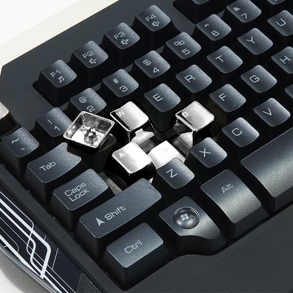 Teclado Gamer Thermaltake + Mouse Led Azul Sports Commander KB-CMC-PLB - KB-CMC-PLBLPB-01