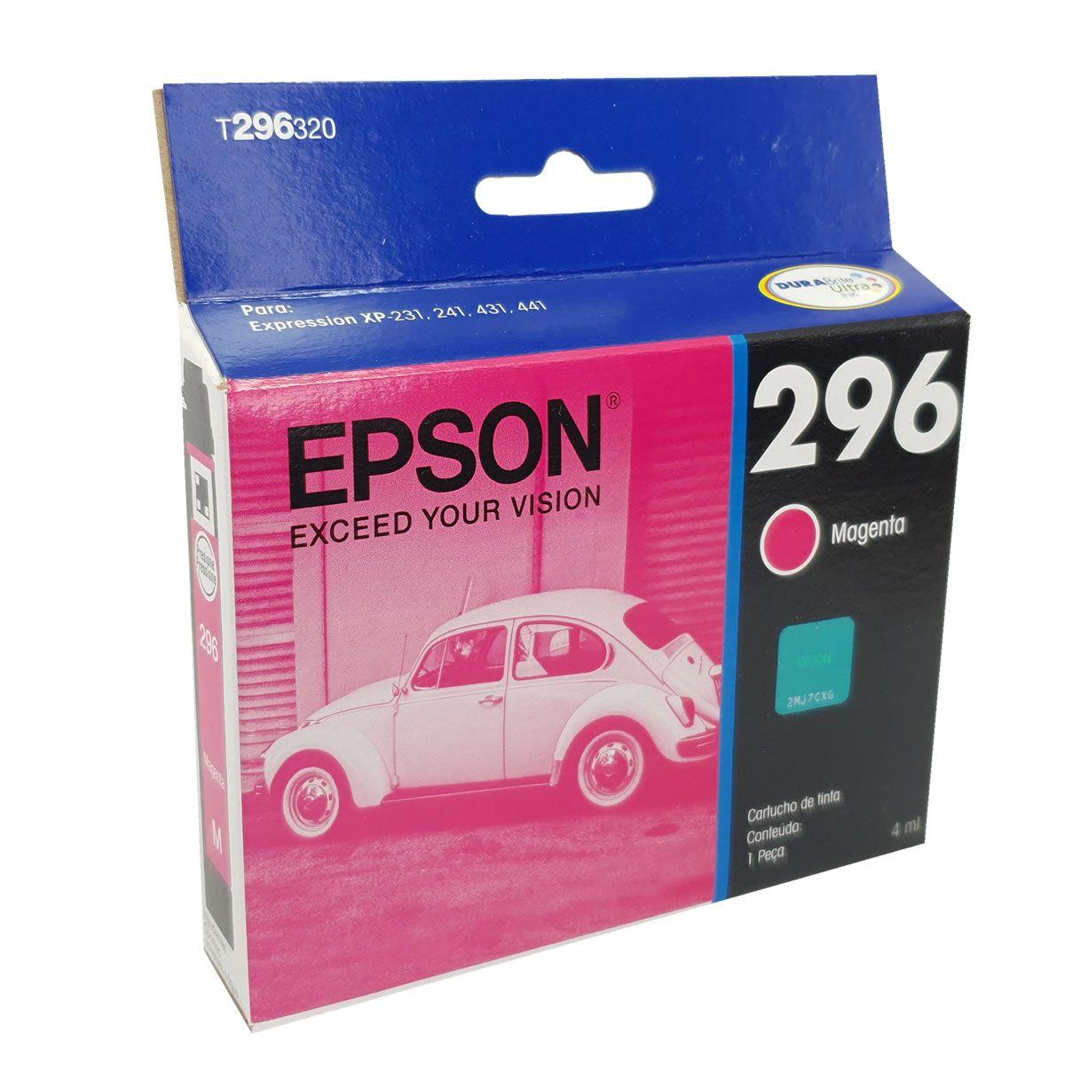 Tinta p/ cartucho da impressora Epson XP 241 magenta