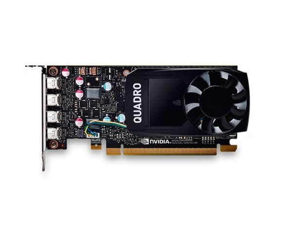 VGA Nvidia Quadro 2GB P600 GDDR5 PCI Express 3.0 x 16 - VCQP600-PORPB