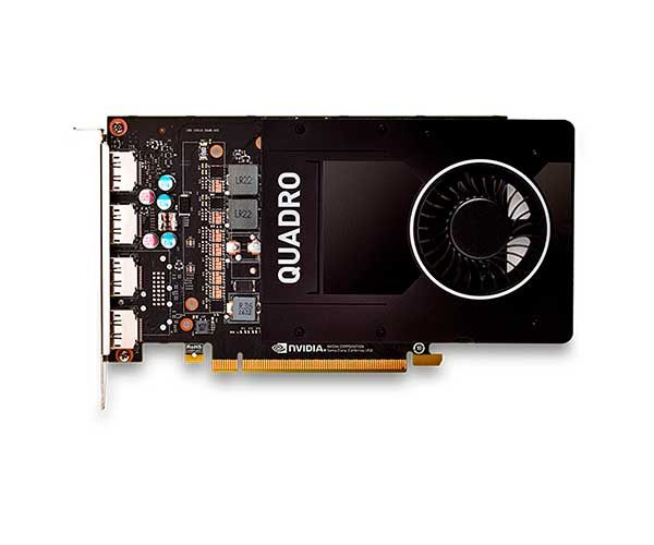 VGA Nvidia Quadro 5GB P2000 GDDR5 VCQP2000