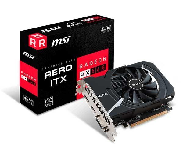 VGA Radeon 4GB RX 560 AERO ITX  OC GDDR5 128BIT MSI