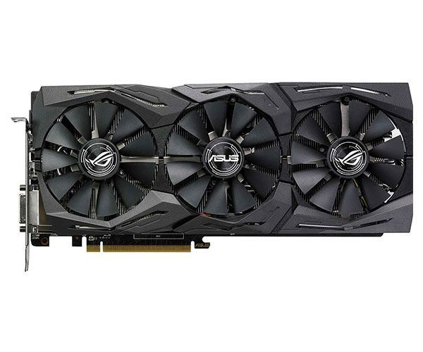 VGA Radeon 8GB RX 580  ROG-STRIX-RX580-T8G-GAMING
