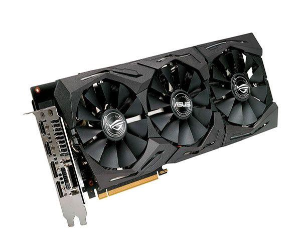 VGA Radeon 8GB RX 580  ROG-STRIX-RX580-T8G-GAMING