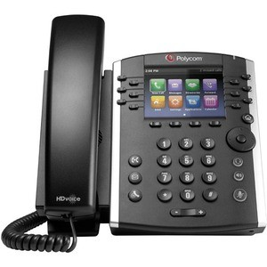 Poly VVX 411 12-LINE PHONE GIGABIT POE. SHIPS WITHOUT POWER SUPPLY. - 2200-48450-025