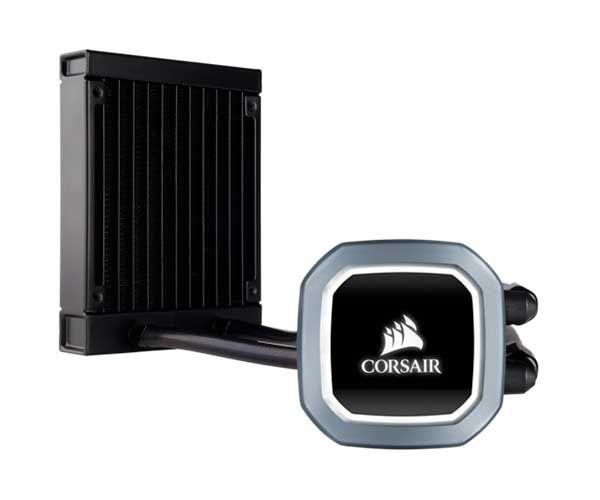 Watercooler Corsair Hydro Series H60 120mm c/ LED Branco CW-9060036-Ww - CW-9060036-WW