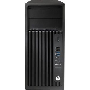 WORK HP Z240 E3-1225V5 W1OP 16GB 1TB NVD P400 2GB 3L BUNDLE C/ MONITOR 27""