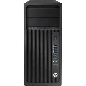 WORK HP Z240 I7-7700 W10P 16GB 1TB NVDP400 2GB 1 ANO ONSITE