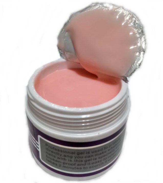 03 Gel Pink 018 X&D 56gr Para Unhas Gel e Acrigel
