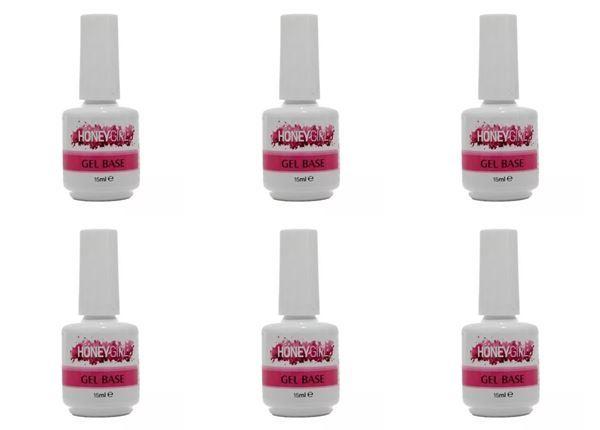 Kit 06 Gel Base ( Primer ) Honey Girl 15 ml