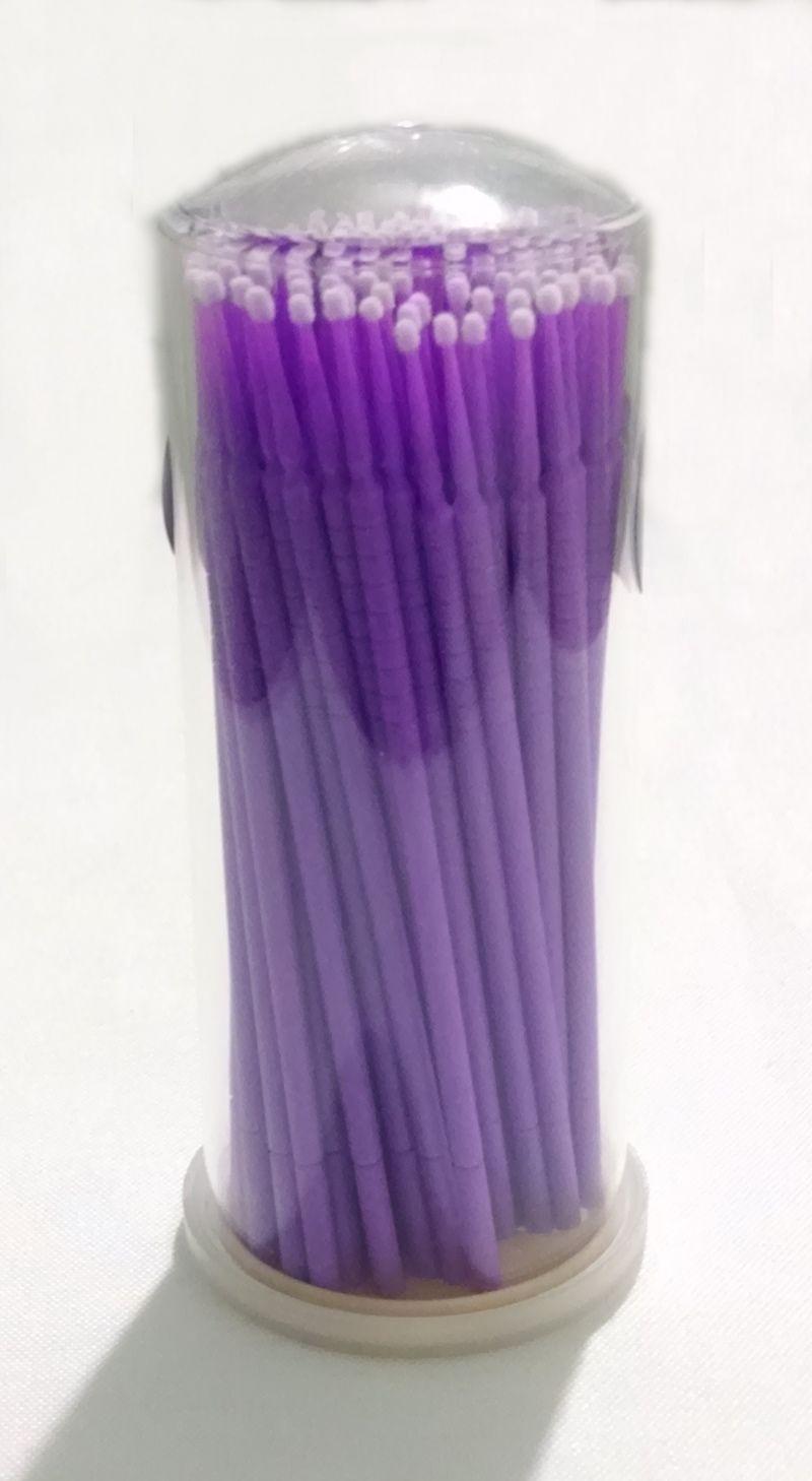 Pincéis Microbrush 1.5mm Navina c/ 100 un