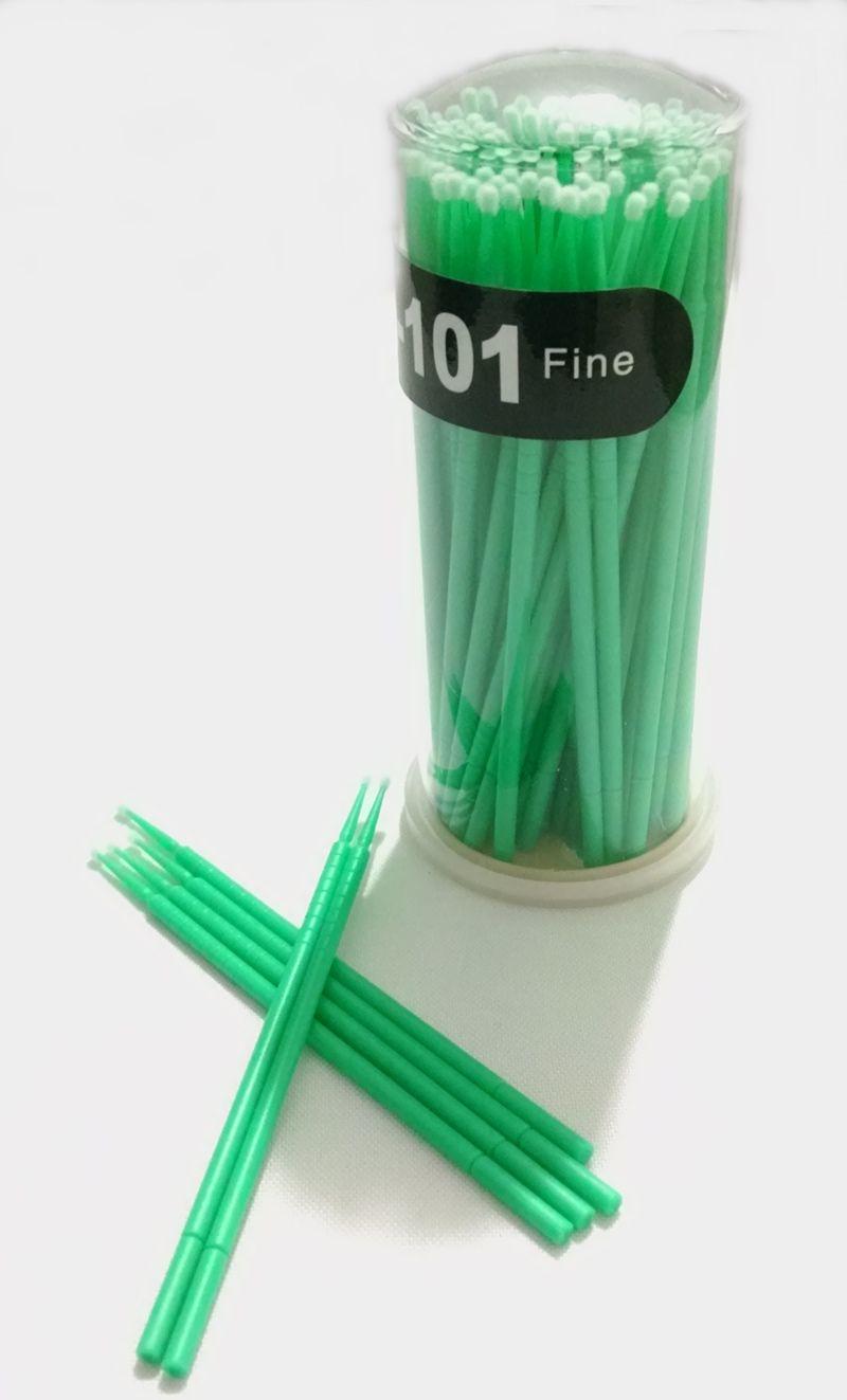 Pincéis Microbrush 2.0mm Navina c/ 100 un