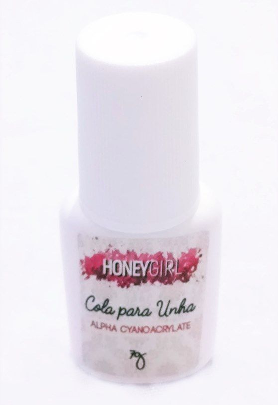 12 Colas Para Unha Tips Gel Acrigel Fibra Porcelana Honey Girl