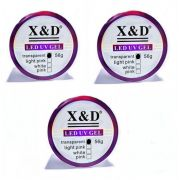 03 Gel Clear X&D 56gr Para Unhas Gel e Acrigel X & D