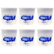 12 Gel Clear Transparente Honey Girl 50 Gr Para Unhas Gel e Acrigel Azul