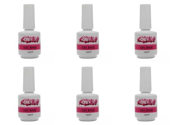 24 Gel Base ( Primer ) Led Uv Honey Girl 15 ml