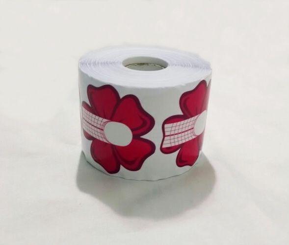 Moldes Adesivos Flor Para Unha De Porcelana E Gel c/ 300 un