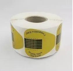 Moldes Adesivos Coração Para Unha De Porcelana E Gel c/ 500 un