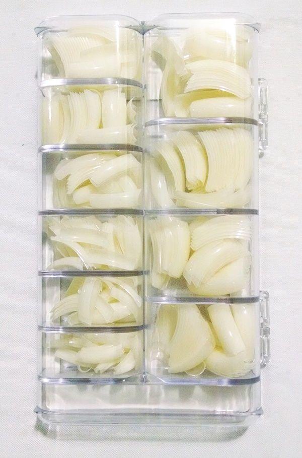 Tips Unhas Tips Sorriso Acrigel Natural Honey Girl c/ 500 un