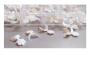 Tips Francesinha Branca Unha Gel Porcelana Acrigel Honey Girl c/ 100 un