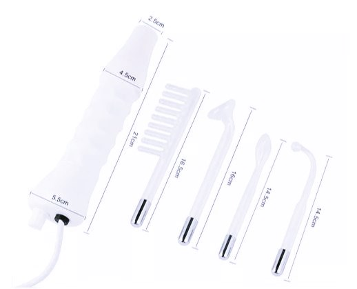 Aparelho Alta Frequência Portátil Bivolt Limpeza Tratamento De Pele