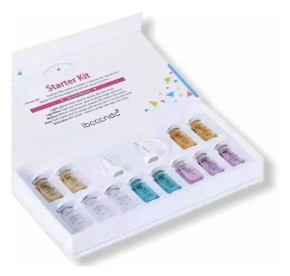 Bb Glow Starter Pigmentos Kit 12 Ampolas 8ml Ibcccndc 001
