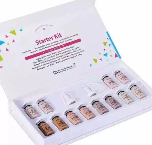 Bb Glow Starter Pigmentos Kit 12 Ampolas 8ml Ibcccndc 002