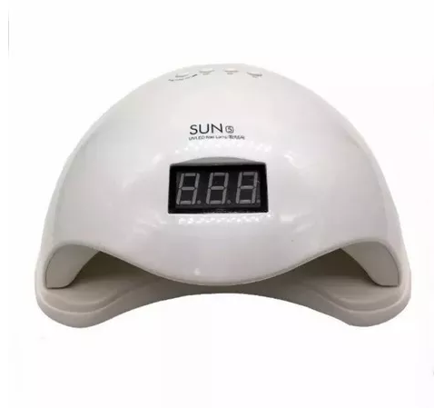 Cabine Sun 5 Led E Uv 48w Digital Bivolt Unha Gel