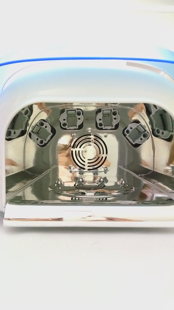 Cabine Uv Digital Com Ventilação Professional Nail Dry 110v