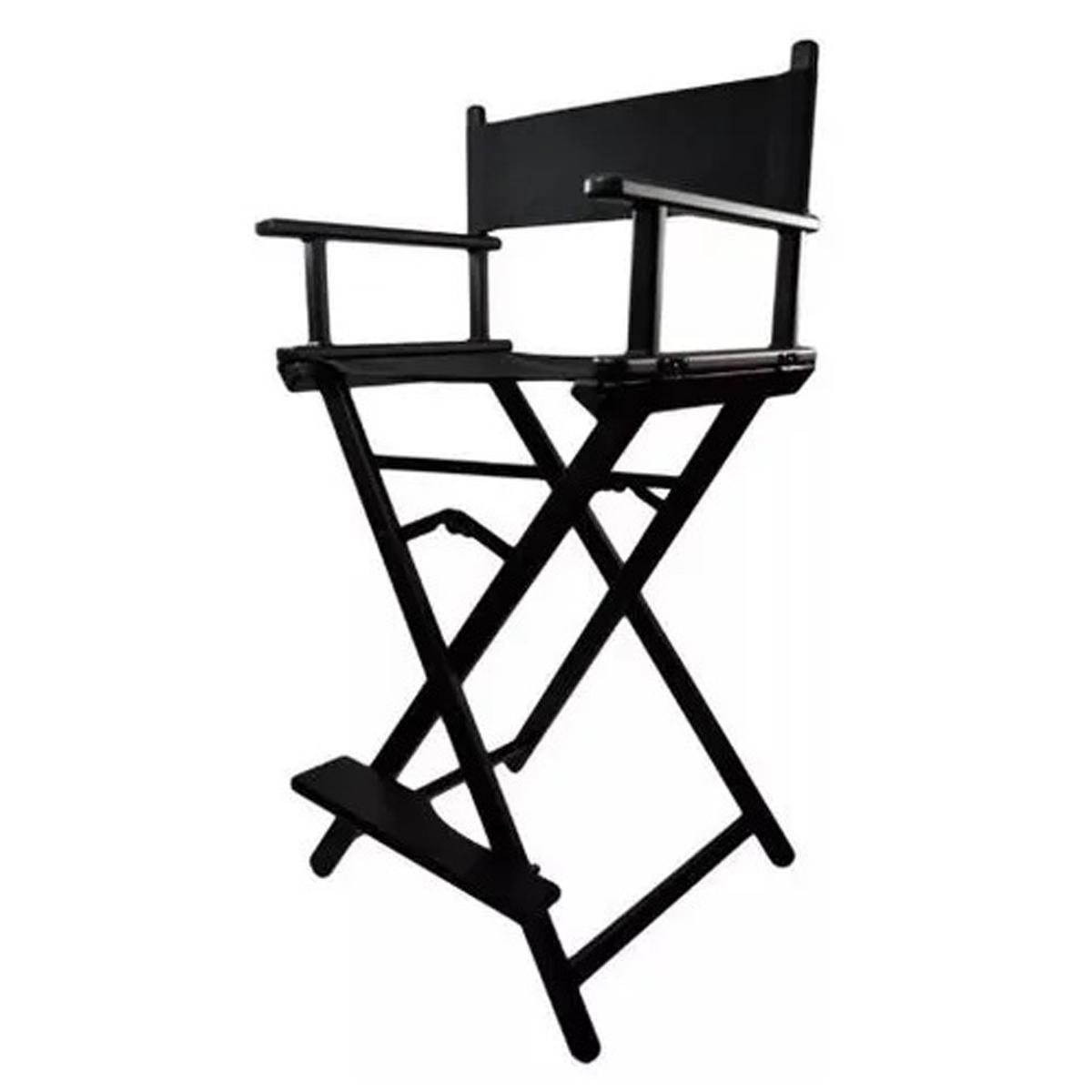Cadeira Diretor Maquiador Cinema Alta Profissional