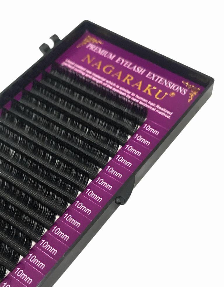 Cílios Nagaraku Fio Mink Ellipse 0.07 D Volume Russo 10mm