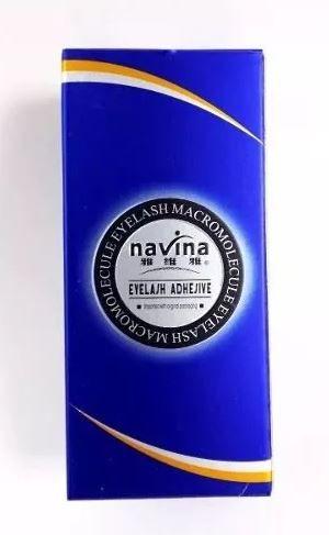 Cola Alongamento De Cílios Sem Cheiro E Antialérgica Navina