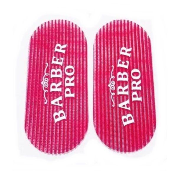 Divisor Prendedor Velcro Cabelos Hair Grippers Barber Vermelho