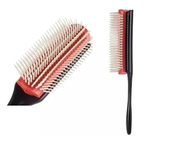 Escova Pompadour Para Topetes Barbearia Cabeleireiro
