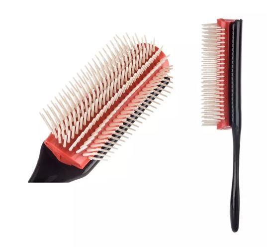 Escova Pompadour Para Topetes Cabeleireiro Barbearia