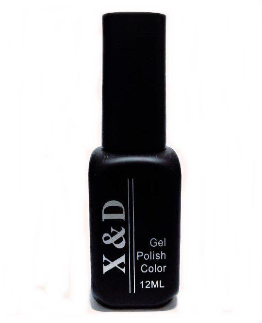 Esmalte Em Gel X&d Led Uv Vinho Unha Gel X & D 12ml