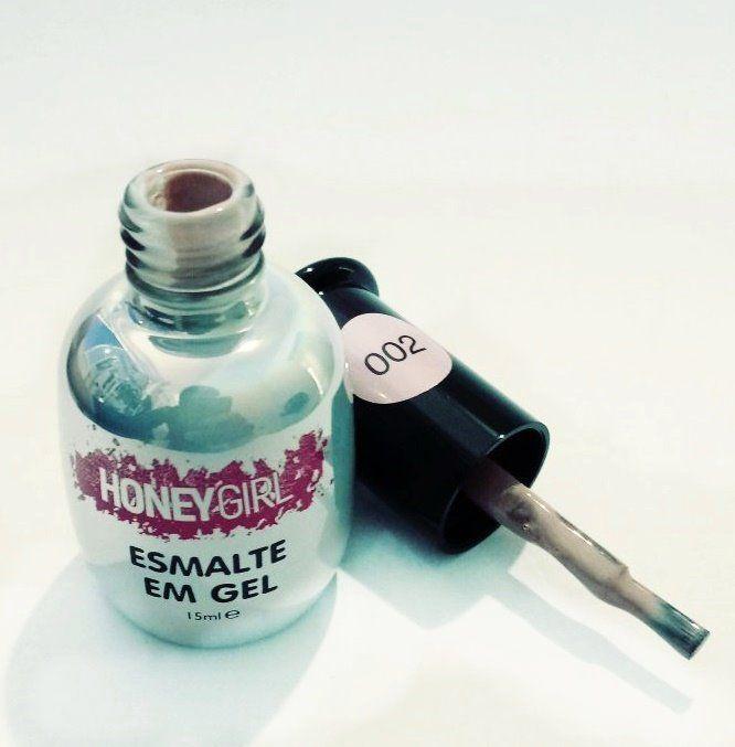 Esmalte Gel Led Uv Honey Girl Nude Rose 002 15ml