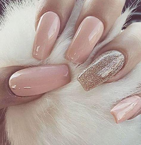 Esmalte Gel Led Uv Nude Rose Glitter 179 Honey Girl 15ml
