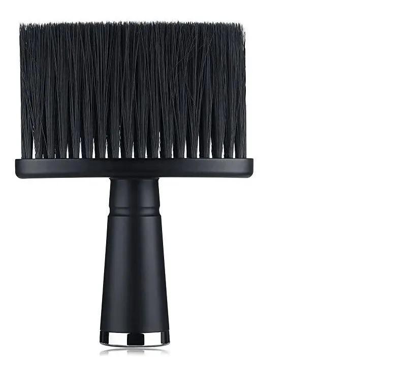 Espanador Pincel Para Barbeiro Cabeleireiro Profissional J060 Preto