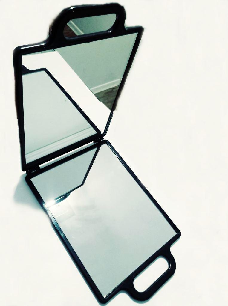Espelho Grande Quadrado Portátil Dobrável
