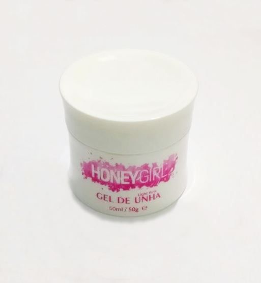 Gel Clear Transparente Honey Girl 50 Gr Para Unhas Gel e Acrigel