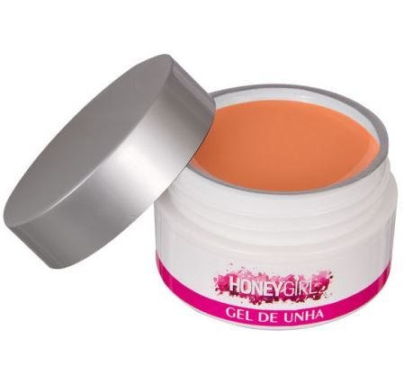 Gel Nude Honey Girl Uv Led Unha Gel Acrílico Fibra 30gr