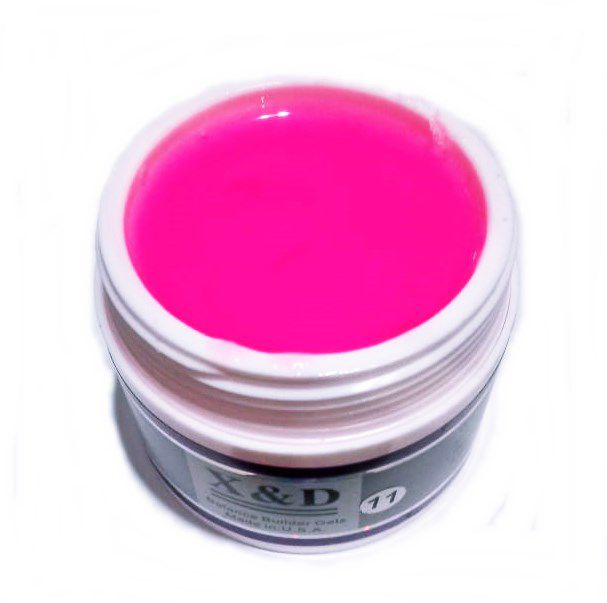 Gel Pink Light 011 X&D 56gr Para Unhas Gel e Acrigel