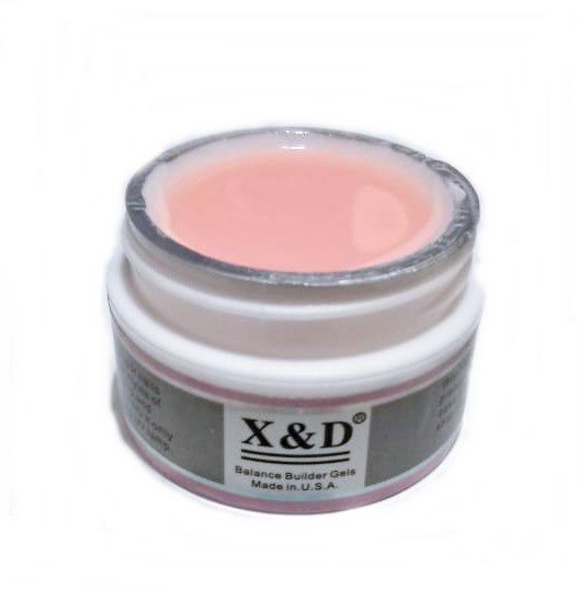 Gel Pink Light Led Uv X&D 15gr Para Unhas Gel e Acrigel